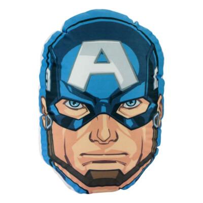 Almofada Capitão América Face Marvel
