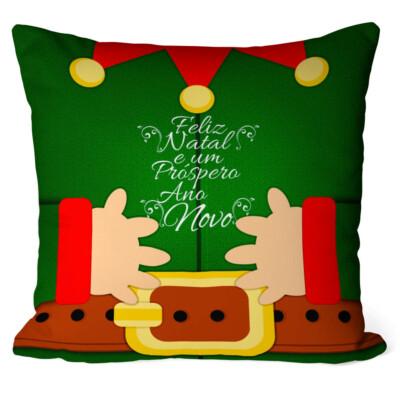 Almofada Natal Elfo Duende Do Noel
