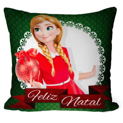 Almofada Natal Frozen Anna V03