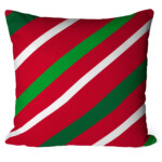 Almofada Natal Listras Diagonal