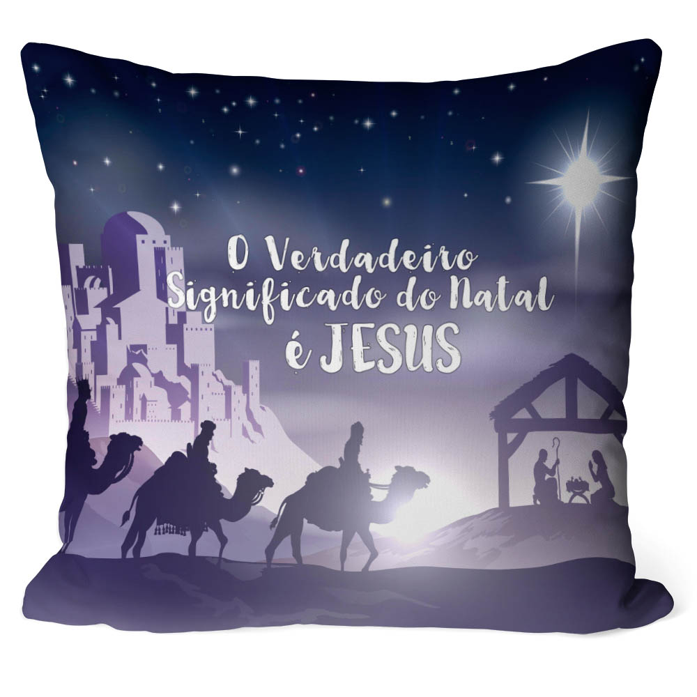Almofada Natal Nascimento De Jesus V03