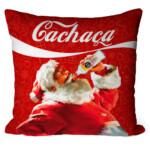 Almofada Natal Papai Noel Cachaça 51