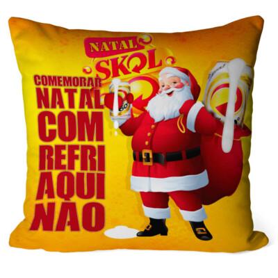 Almofada Natal Skol Noel V03