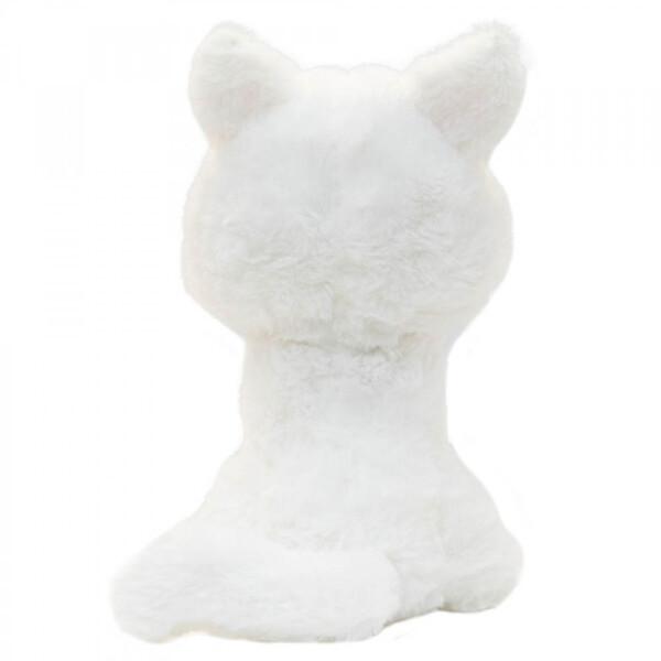 Gato Mingau Sentado De Pelúcia 20cm