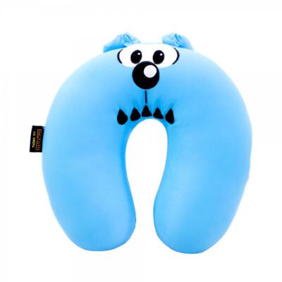 Almofada De Pescoço Bidu Azul Isopor