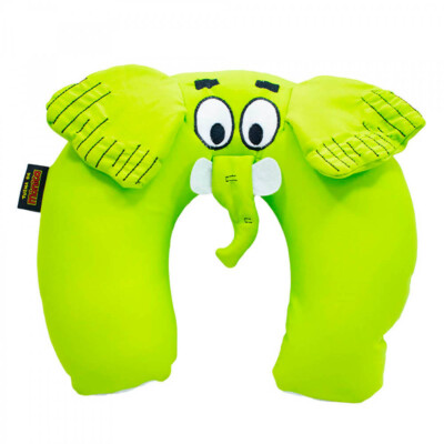Almofada De Pescoço Jotalhão Verde Isopor