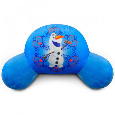 Almofada De Encosto Olaf Fibra Grande Frozen