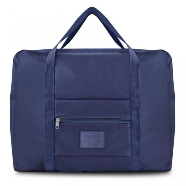 Bolsa De Viagem Dobrável Gg Jacki Design Azul