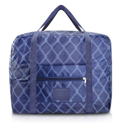 Bolsa De Viagem Dobrável Jacki Design Azul