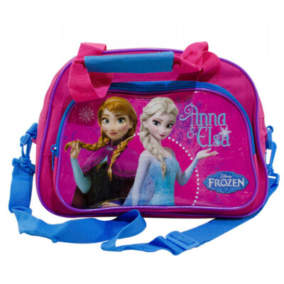 Bolsa De Viagem Anna E Elsa Frozen Rosa