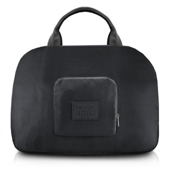 Bolsa Para Viagem Dobrável Jacki Design Preta