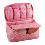Bolsa Porta Lingerie Jacki Design Rosa