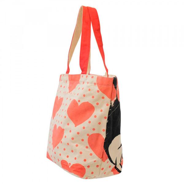 Bolsa Minnie Shopping Bag Corações