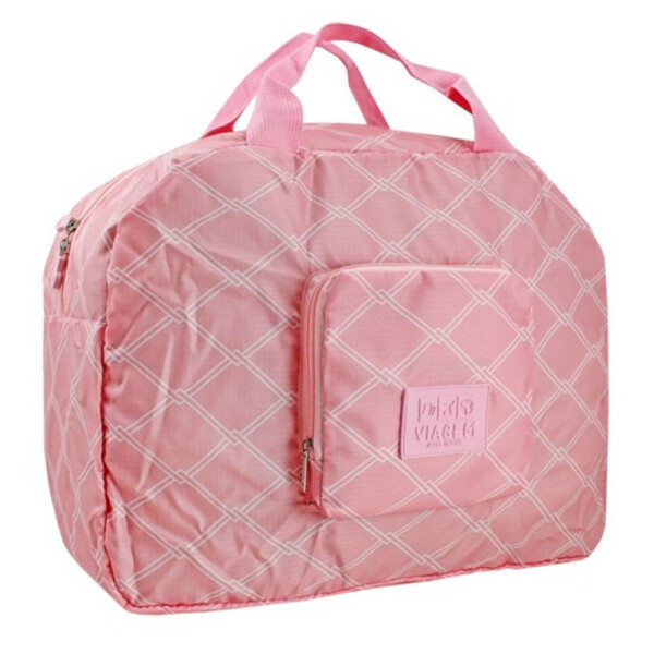 Bolsa Viagem Dobrável Jacki Design Rosa