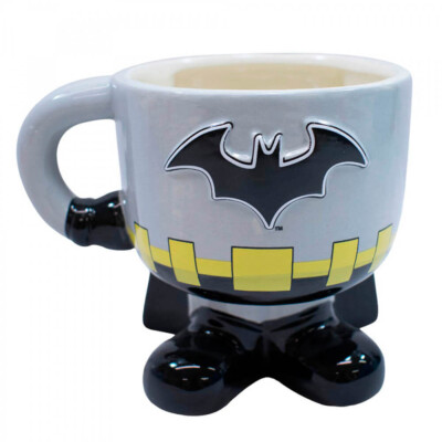 Caneca 3d Batman Porcelana 450ml