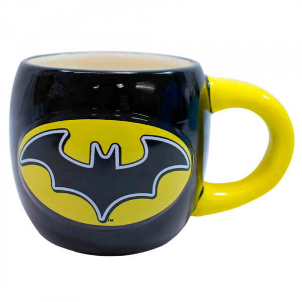 Caneca Batman Oval Porcelana 600ml