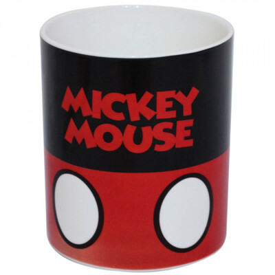Caneca Mickey Mouse De Porcelana 370ml