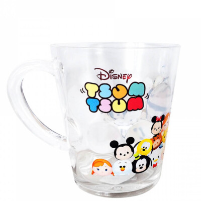 Caneca Mickey E Minnie Amigos Tsum Tsum Acrílico 200ml