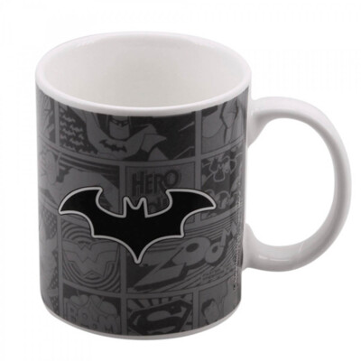 Caneca Batman Porcelana 300ml