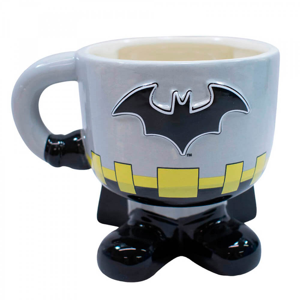 Caneca Batman 3d Porcelana 450ml