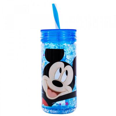 Copo Mickey Congelante Com Canudo 350ml