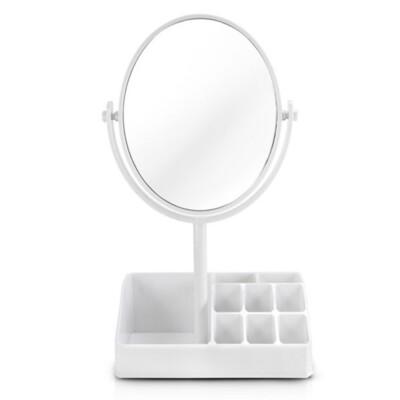 Espelho De Mesa Com Divisória Jacki Design Branco