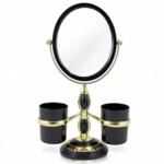 Espelho De Mesa Jacki Design Preto