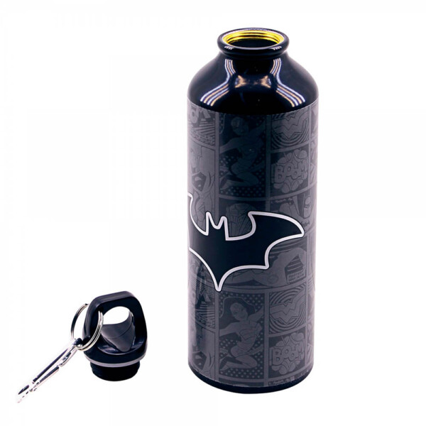 Garrafa Batman De Alumínio Com Prendedor 500ml