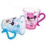 Conjunto Mickey E Minnie Com 2 Canecas De Acrílico 300ml