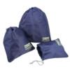 Kit Organizador De Malas De 3 Peças Jacki Design Azul