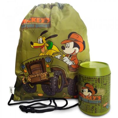 Lata + Mochila Saco Mickey Pluto
