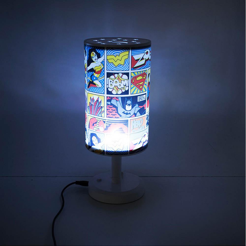 Luminária Abajur Quadrinhos