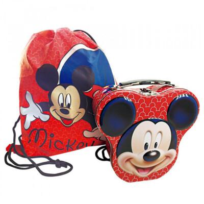 Maleta + Bolsinha Mickey