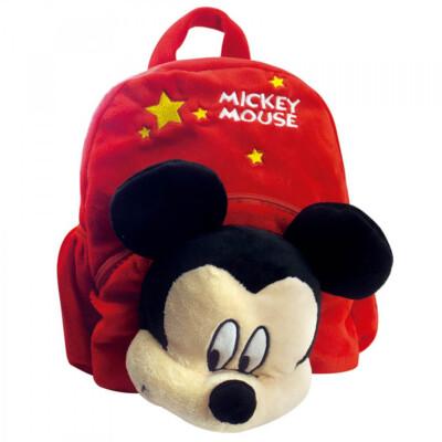 Mochila Com Mickey De Pelúcia