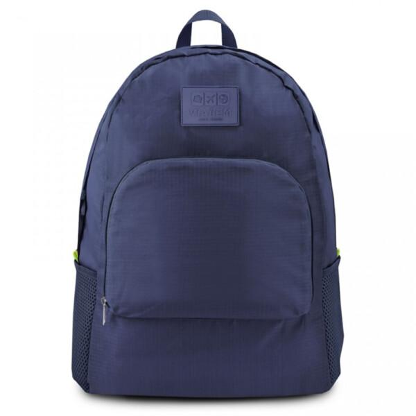 Mochila Dobrável Viagem Jacki Design Azul