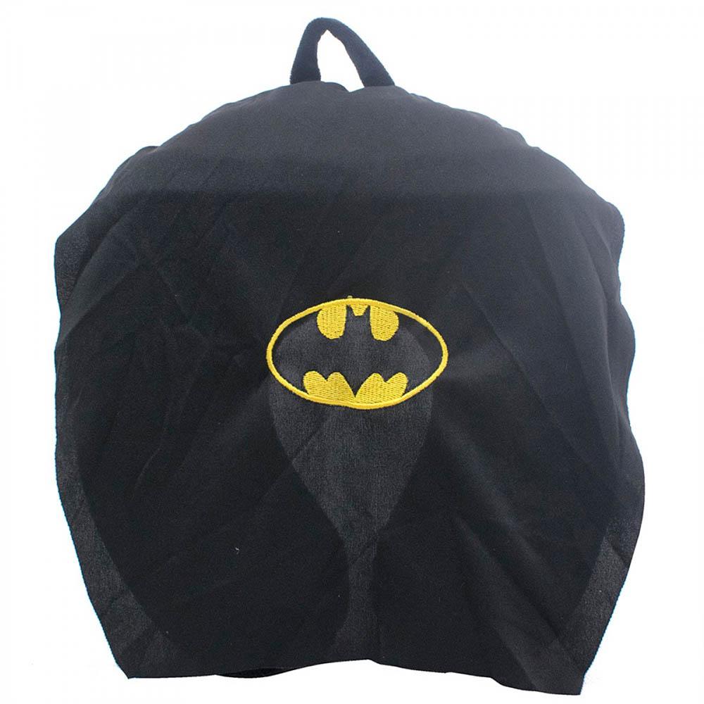 Almofada De Pescoço Batman Com Capa Espuma