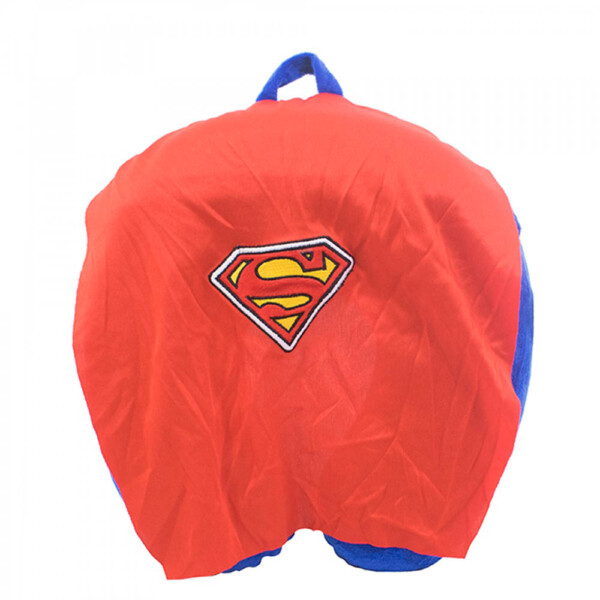 Almofada De Pescoço Super Homem Com Capa Espuma