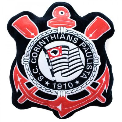 Almofada Brasão Corinthians Fibra