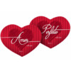 Almofada Coração Amor Perfeito
