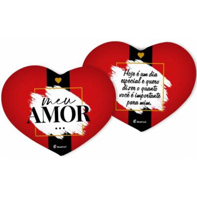 Almofada Coração Meu Amor Hoje é Dia Especial