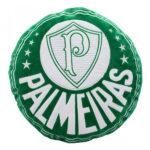 Almofada Palmeiras Brasão Fibra 40cm