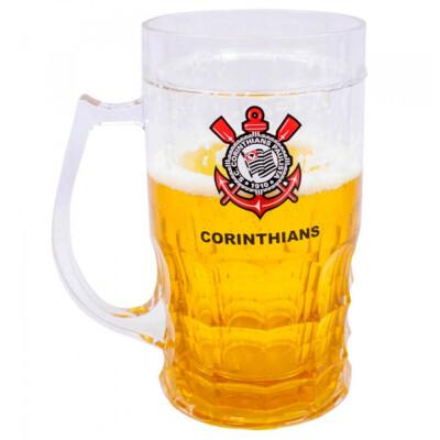 Caneca Cerveja Corinthians 600ml