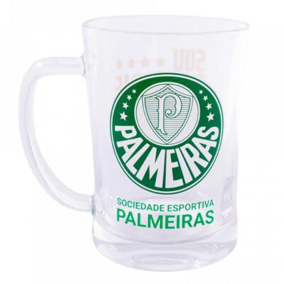 Caneca De Vidro Palmeiras 660ml