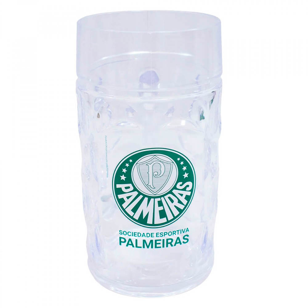 Caneca Palmeiras Gigante Plástico 900ml