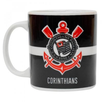Caneca Porcelana Corinthians 320ml