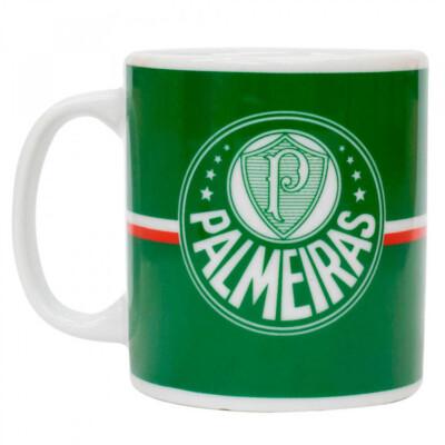 Caneca Palmeiras Porcelana 320ml