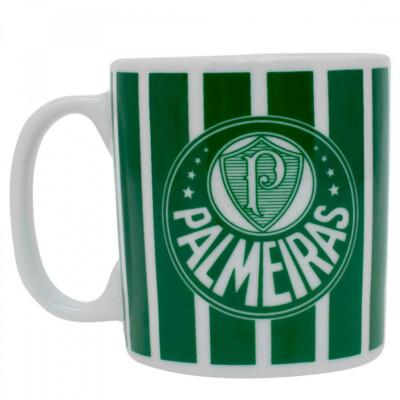 Caneca Palmeiras Listra Porcelana 320ml
