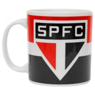 Caneca Porcelana Logo São Paulo 320ml