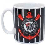 Caneca Porcelana Corinthians Logo 320ml