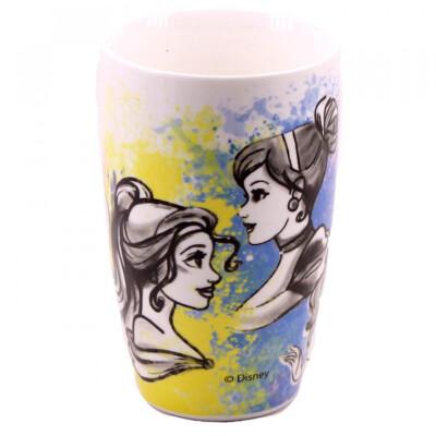 Caneca Porcelana Princesas 400ml